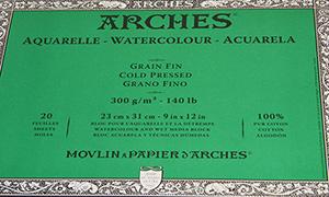 これだけは知っておきたい!水彩紙の種類と特徴。